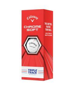 Bóng golf Callaway Chrome soft Triple Track