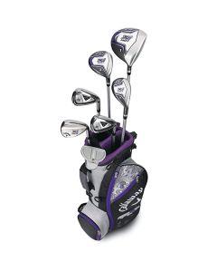 Bộ gậy golf Callaway X Junior Hot 9-12 unisex ( 7 gậy + túi )