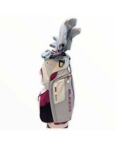 Bộ gậy golf Fullset Cobra FLY XL package lady (12 gậy+túi) 2021