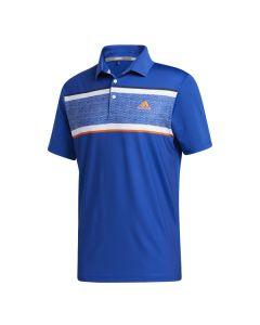 Áo ngắn tay golf adidas FR1142-Xanh royal-M