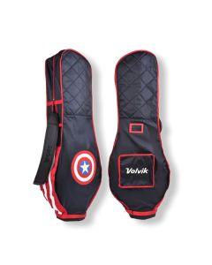 Túi hàng không golf Volvik Marvel Captain America Travel Cover