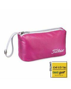 Túi phụ kiện golf Titliest PU Pouch (lady)-Hồng