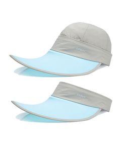 Mũ golf Mega UV-F537 (Lady)-Ghi